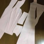 【下天の華】信長衣装制作5 型紙制作