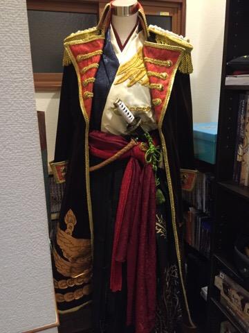 【下天の華】信長衣装制作12 とりま着れるようになりました