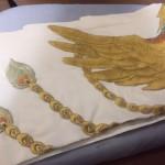 【下天の華】信長衣装制作13 刺繍完成~終了