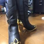 【下天の華】信長衣装制作14 ブーツの装飾