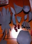 携帯からブログ:拓磨覚醒衣装制作4