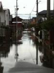 携帯からブログ:台風で