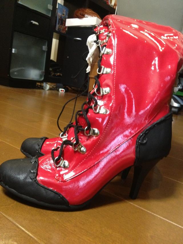 携帯からブログ:龍ノ、MEIKOのブーツ