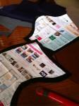 携帯からブログ:土方合戦衣装制作2