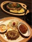 携帯からブログ:2日連続の外食