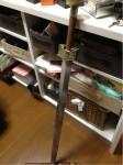 携帯からブログ:ヨシヒコ衣装制作2