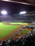 携帯からブログ:野球観戦