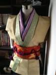 携帯からブログ:弁慶さん衣装製作3