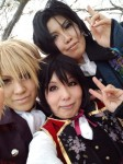 携帯からブログ:桜ロケラスト!