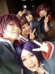 携帯からブログ:真夏の緋色撮影会