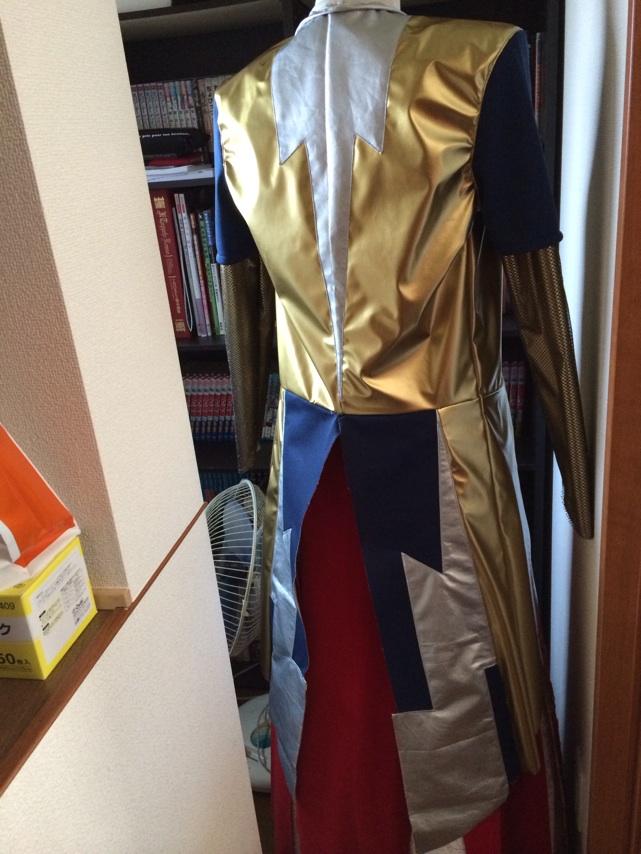 携帯からブログ:空蝉丸衣裳制作1